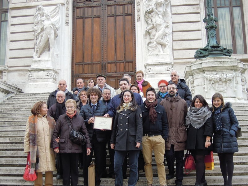 L 39 associazione buggiano castello in visita alla camera for Ieri alla camera dei deputati